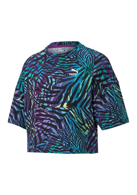 cg boyfriend tee cropp PUMA | T-shirt | 599619-17