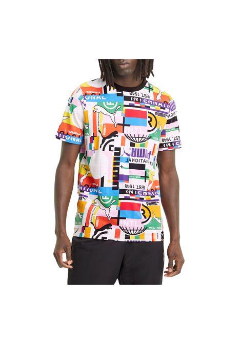 puma intl tee PUMA | T-shirt | 599791-02