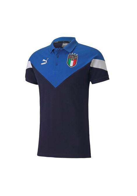 figc  iconic mcs polo PUMA | Polo calcio | 756661-01