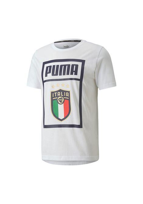 figc  dna  tee PUMA | T-Shirt Calcio | 757504-17