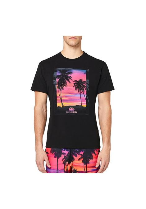UNREAL SUNSET-T-SHIRT S/S sundek | T-shirt | M083TEJ78US-004