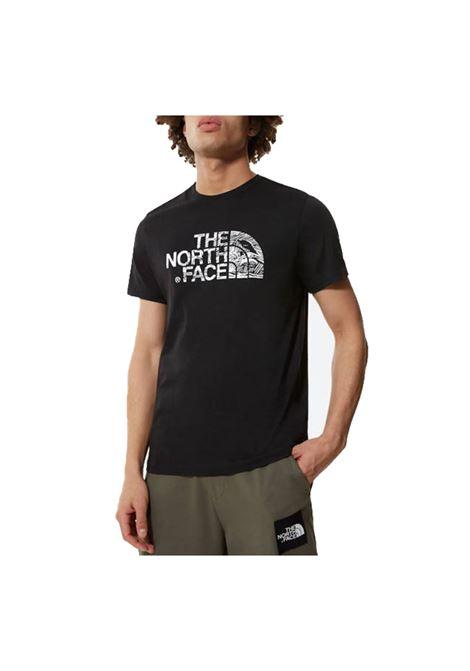 m s/s woodcut dome tee-eu THE NORTH FACE | T-shirt | NF00A3G1-JK31
