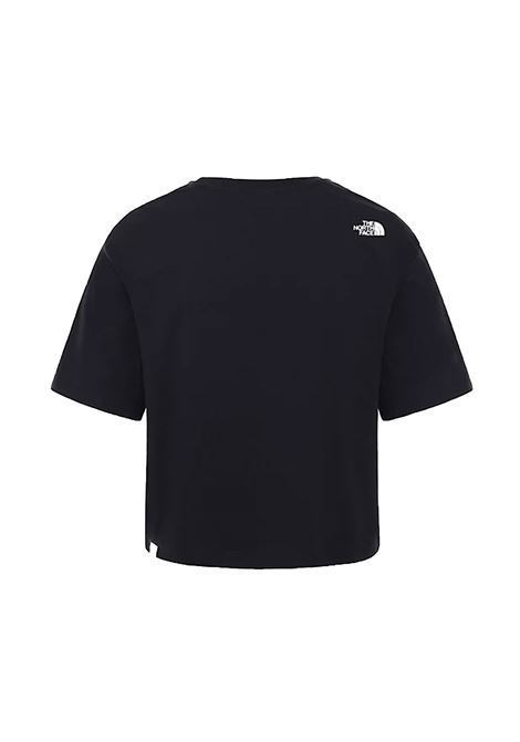 w cropped simple dome tee tnf black THE NORTH FACE | T-shirt | NFOA4SYC--JK31