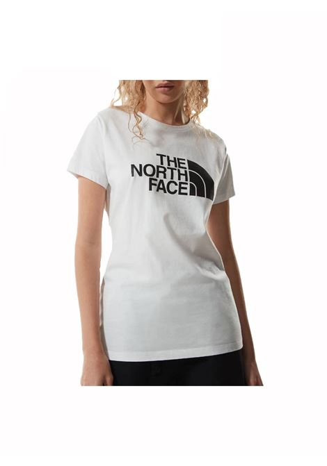 w s/s easy tee tnf THE NORTH FACE | T-shirt | NFOA4T1Q-FN41