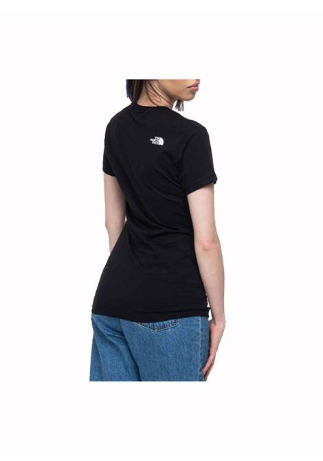 w s/s easy tee tnf THE NORTH FACE | T-shirt | NFOA4T1Q-JK31