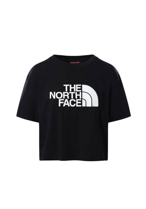 w cropped easy tee THE NORTH FACE | T-shirt | NFOA4T1R-JK31