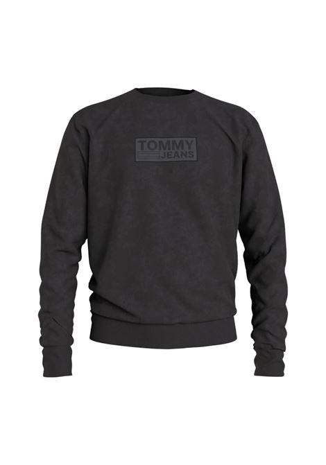 t jm tonal corp logo crew TOMMY JEANS | Felpe | M10200-BDS