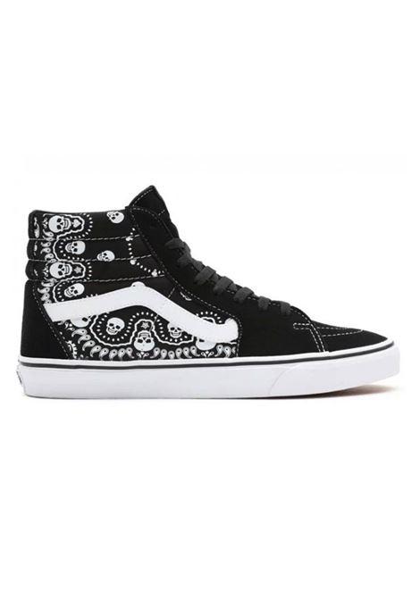 us sk8-hi bandana skull VANS CLASSIC | Sneakers | VN0A32QGD9S1-