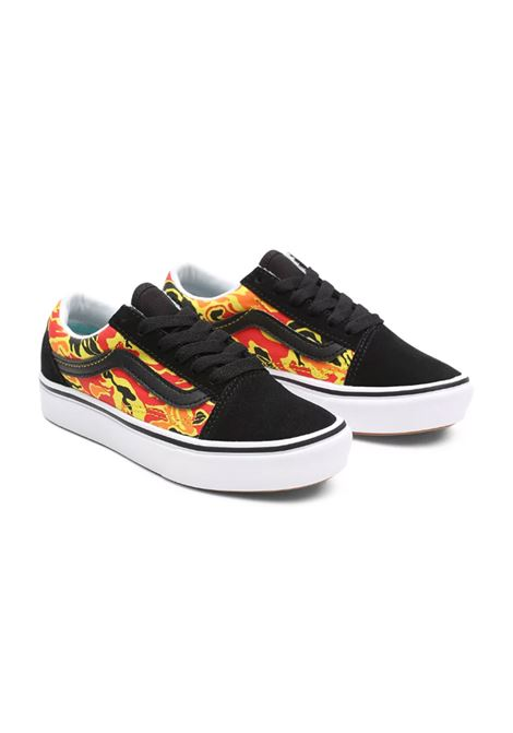 COMFYCUSH OLD SKOOL FLAME VANS CLASSIC | Sneakers | VN0A4UHA31O1M-