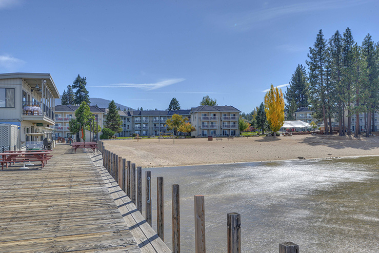 Beach retreat and lodge exterior pier hpg