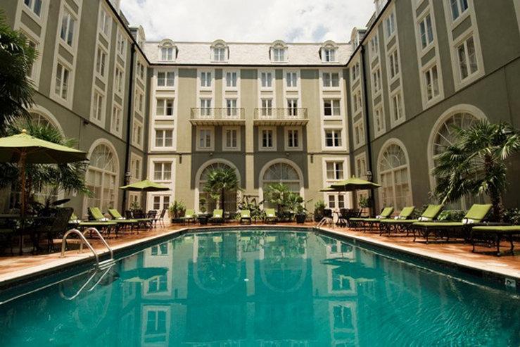 Bourbon orleans hotel pool daytime hpg
