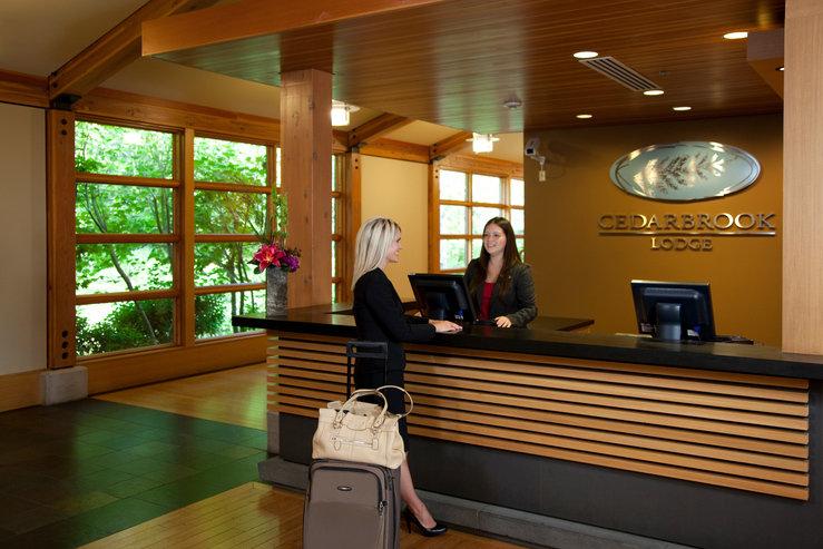 Cedarbrook lodge reception hpg