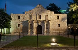Crockett Hotel Alamo