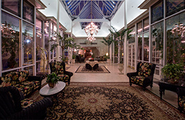 Horton Grand Hotel atrium