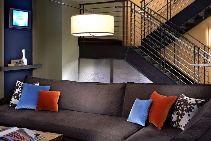 Hotel andra staircase lounge area hpg