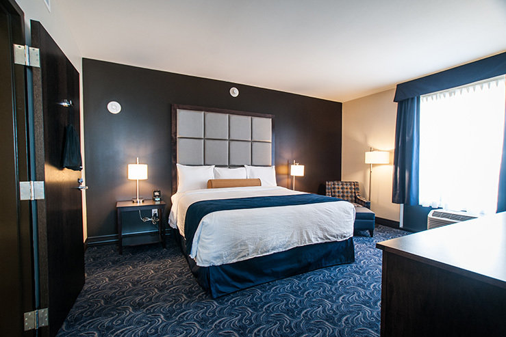 Kent state university hotel and conference center king hpg 1