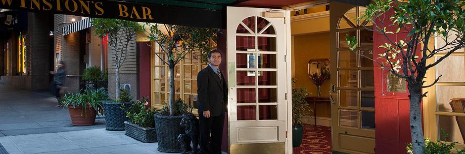 King george hotel doors hero