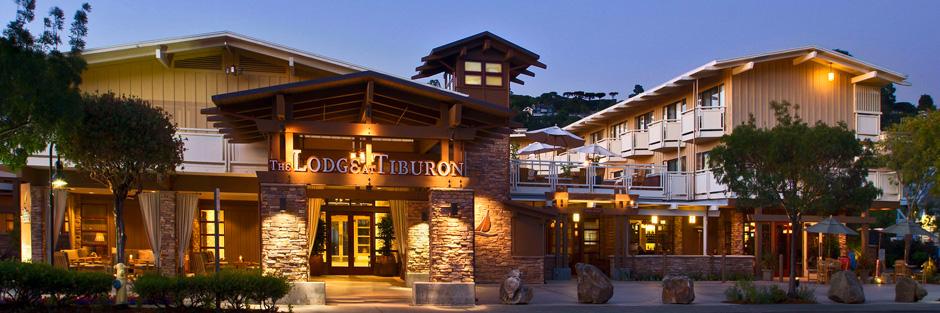 Lodge at tiburon lodge evening hero