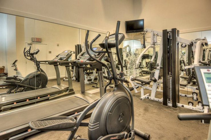 O hotel fitness center hpg