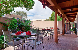 Old Santa Fe Inn patio