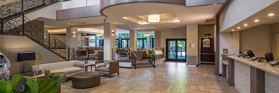 Plaza suites lobby new hero
