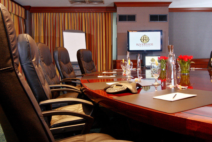 Riverside hotel board room hpg