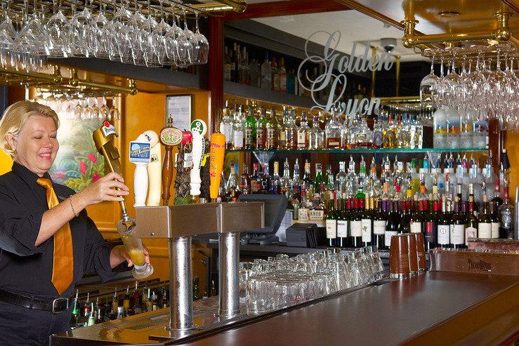 Riverside hotel golden lyon pub 1 hpg