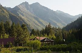 Sleeping Lady Mountain Resort Cascade Mountain view