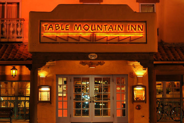 Table mountain inn exterior night hpg