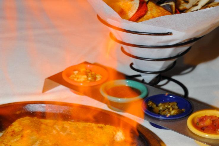 Table mountain inn flaming asadero cheese hpg