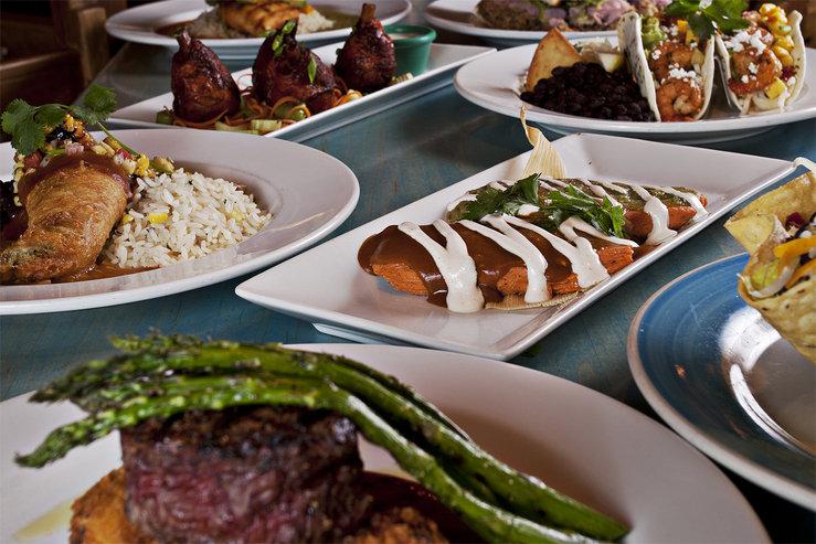 Table mountain inn food hpg