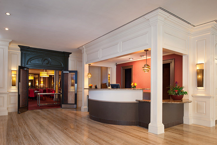 The bristol hotel front desk new hpg 1
