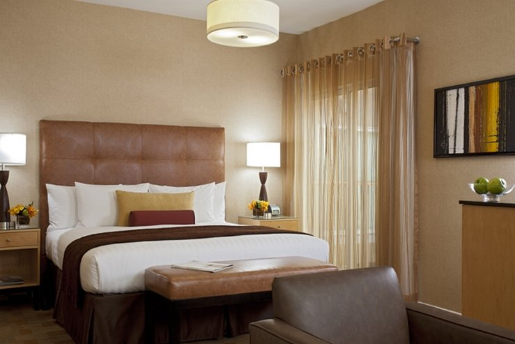 The elan hotel suite bedroom view hpg