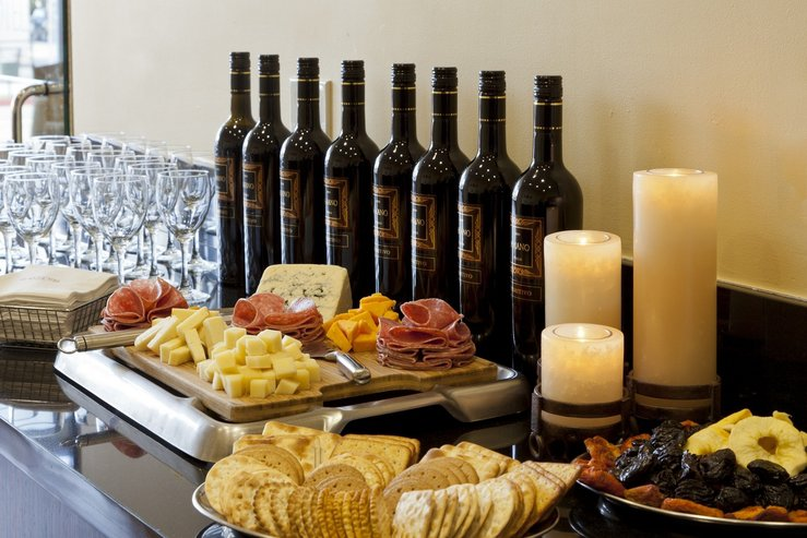 The elan hotel wine and cheese service hpg