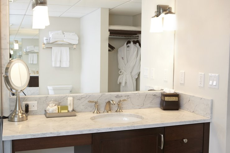 The portland regency hotel and spa govenor suite bathroom vanity hpg