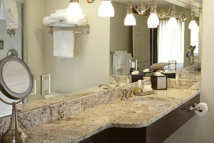 The portland regency hotel and spa superior room bathroom vanity hpg