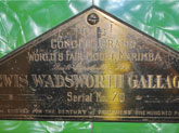 Deagan A Century Of Progress World's Fair Marimba Plaque