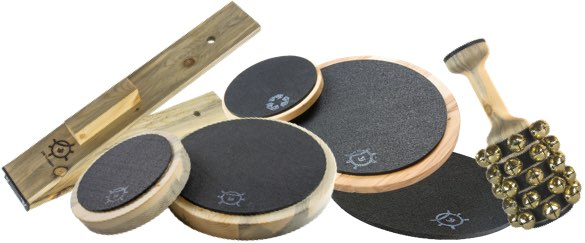 Various Beetle percussion products.