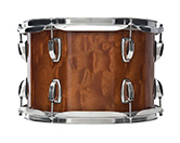 USA Classic Maple Exotic shell in quilted makore finish.