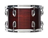 USA Classic Maple shell in cherry stain finish.