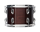 USA Classic Maple shell in mahogany stain finish.