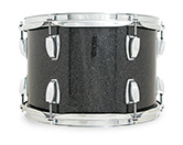 Legacy Classic shell in black glass glitter finish.