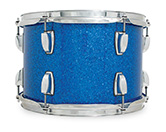 Legacy Classic shell in blue glass glitter finish.