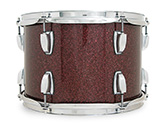 Legacy Classic shell in burgundy glass glitter finish.