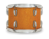 Legacy Classic shell in gold glass glitter finish.