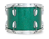 Legacy Classic shell in green glass glitter finish.