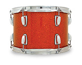 Legacy Classic shell in orange glass glitter finish.