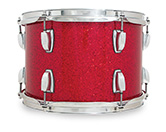 Legacy Classic shell in red glass glitter finish.