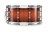Legacy Exotic shell in australian lacewood: natural-red mahogany burst finish.