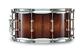Legacy Exotic shell in african black limba: natural/mahogany burst finish.